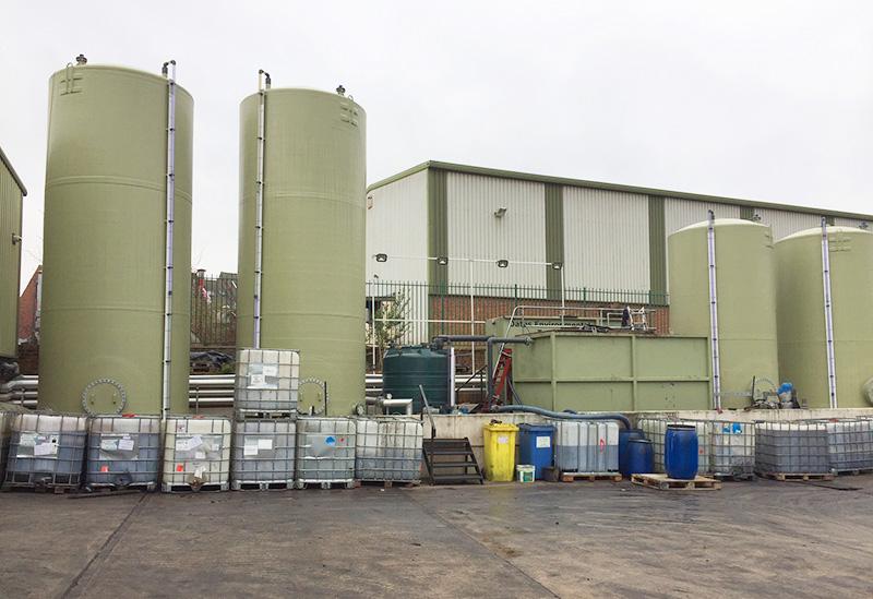 Waste Transfer Station -  - Oates Environmental Leeds